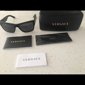 Versace authentic men's sunglasses with case